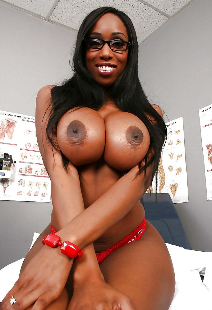 Black big ass boob