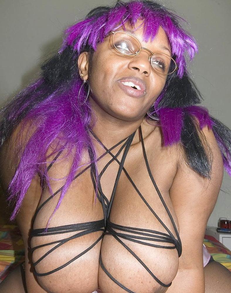 Ebony bondage galleries