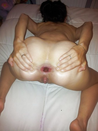 wife creampie Amateur anal