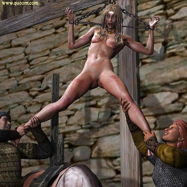 Nude bondage girls viking