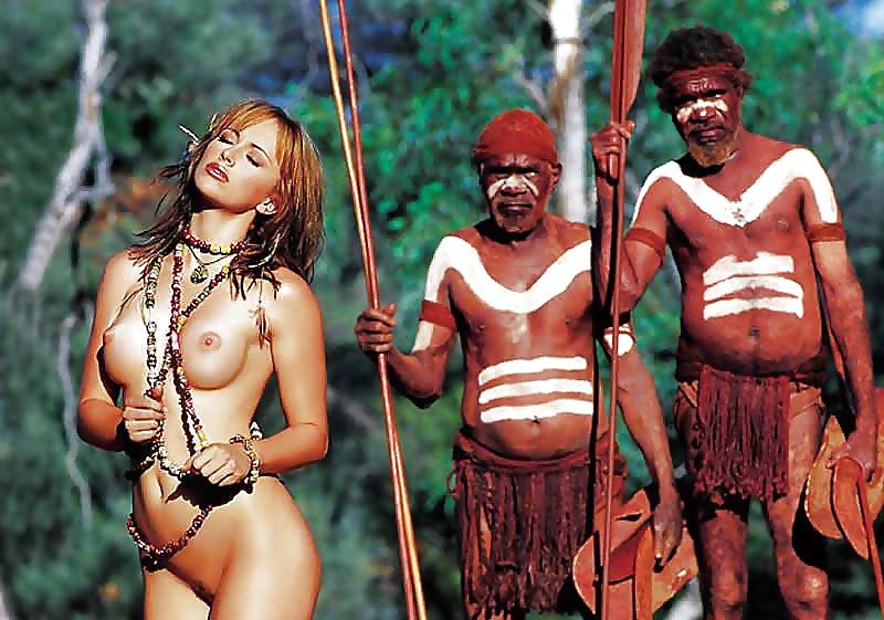 голые женщины дикарей индейцев видео вам рассказать историю