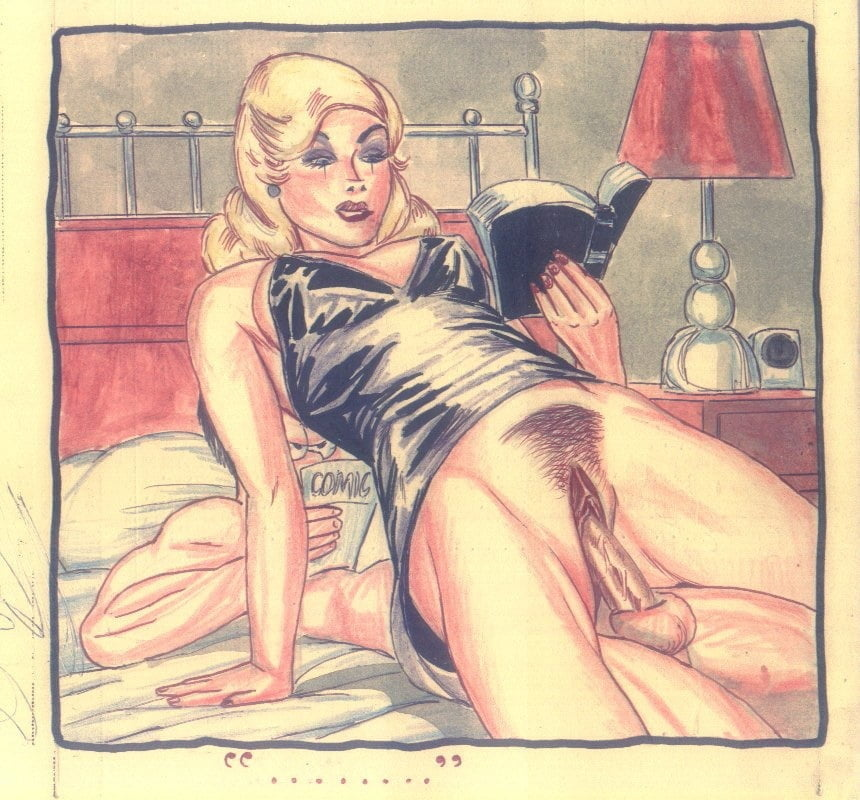 Vintage sexual cartoons