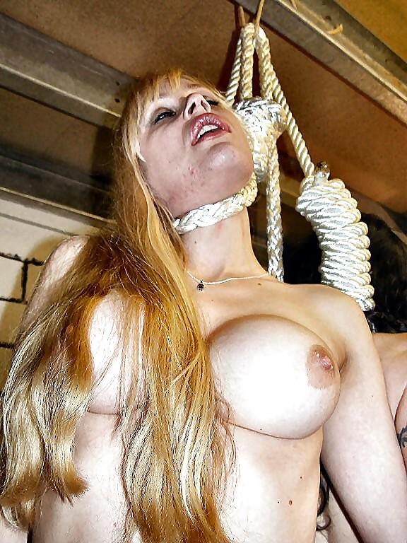 Bondage hanging neck noose