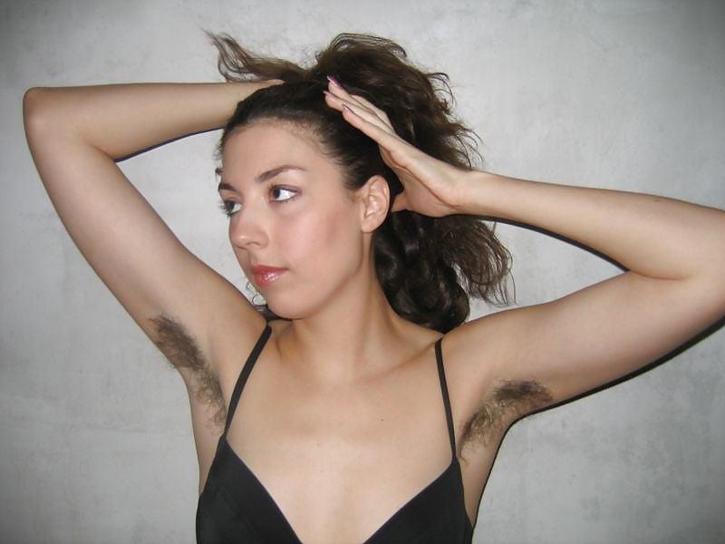 22 Hairy Armpits - 100 Pics