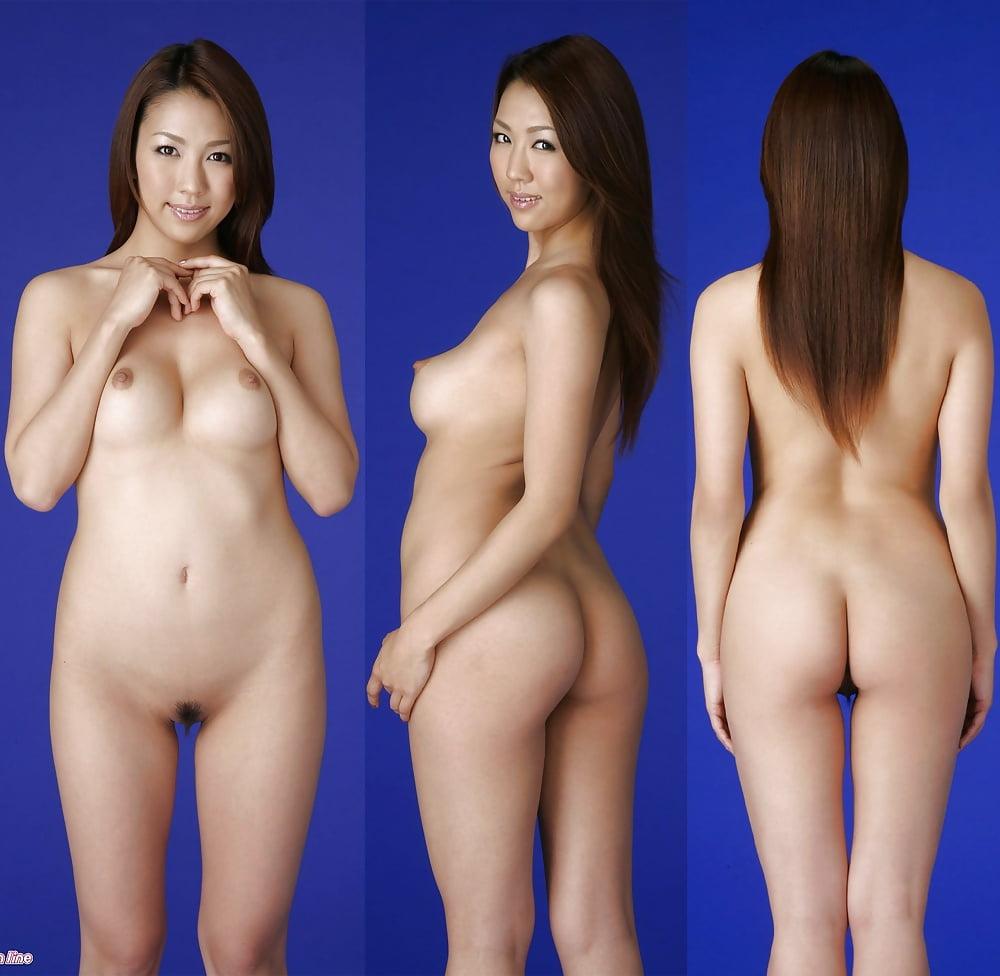 Hot Erotica Japanese Magazine Model Posing Nude