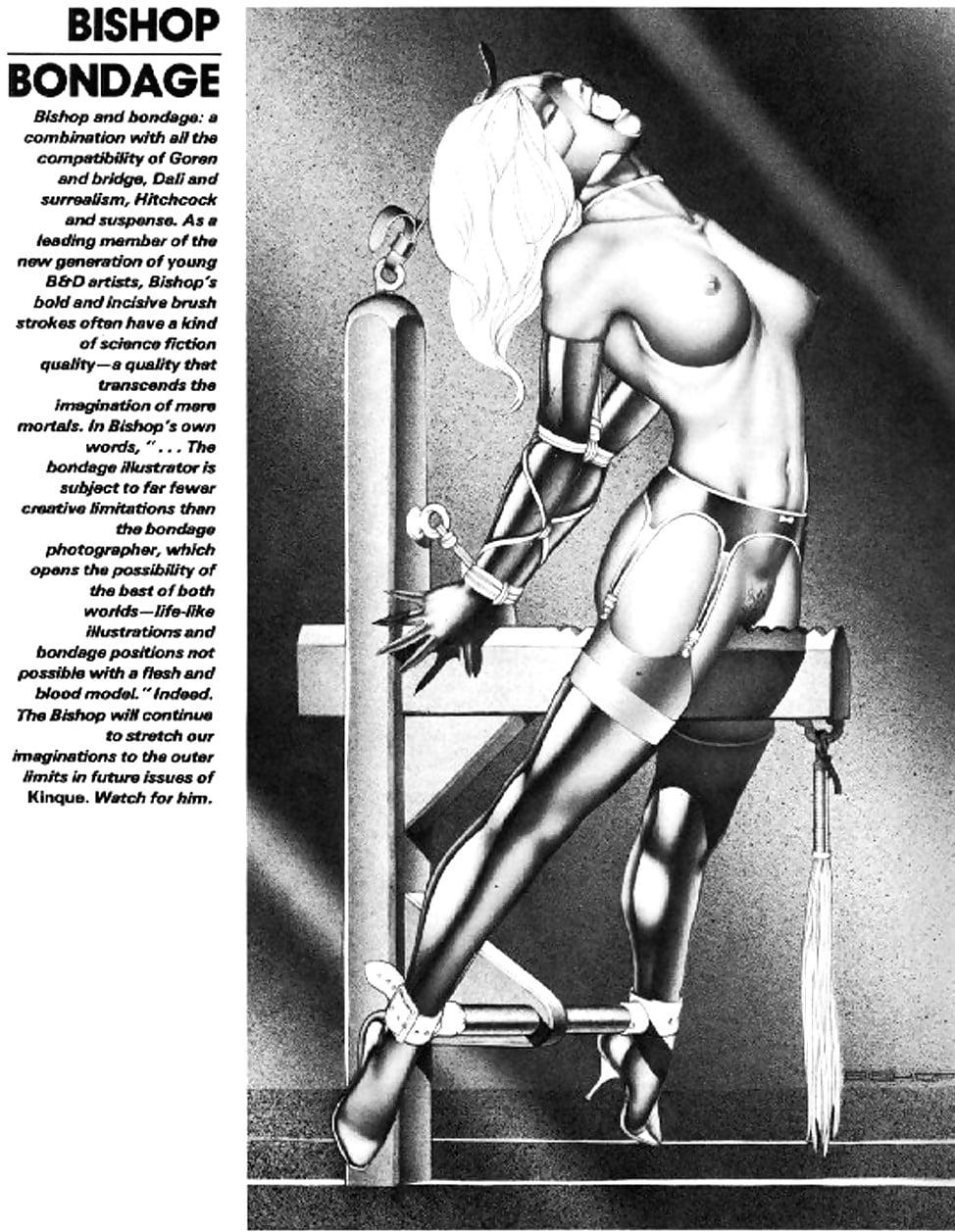 Bishop bondage female position — pic 5