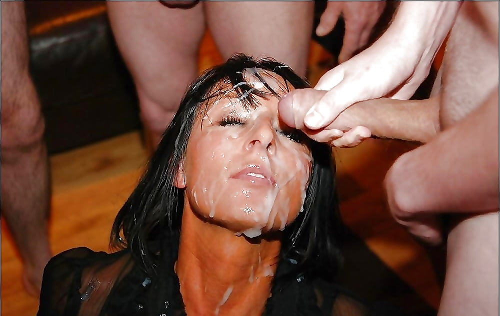 Mother loves bukkake — pic 6