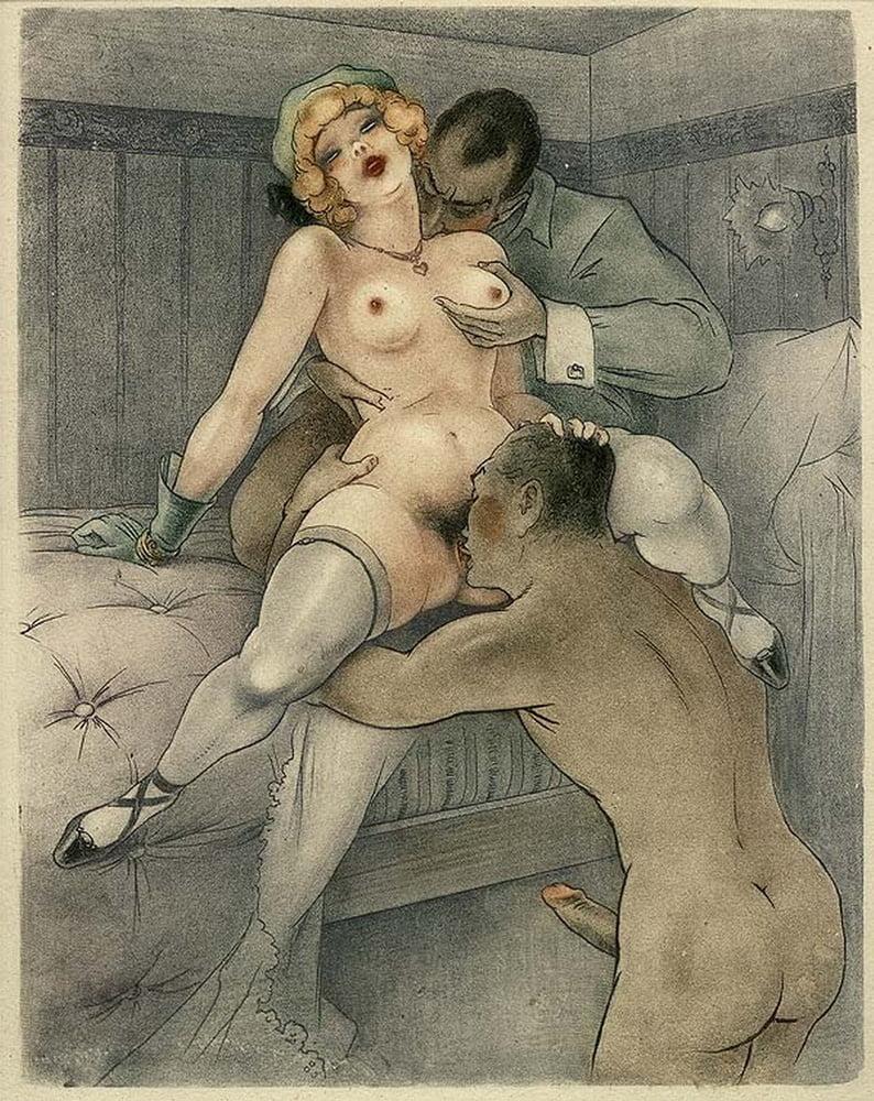 Порнография рисунок ретро — pic 9
