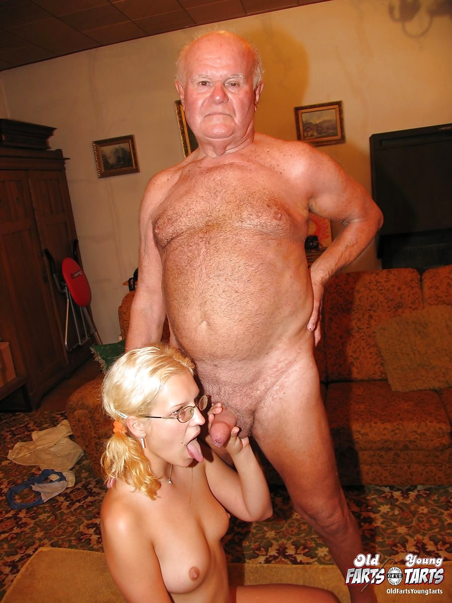 Grandpa on girl xxx, oily black men