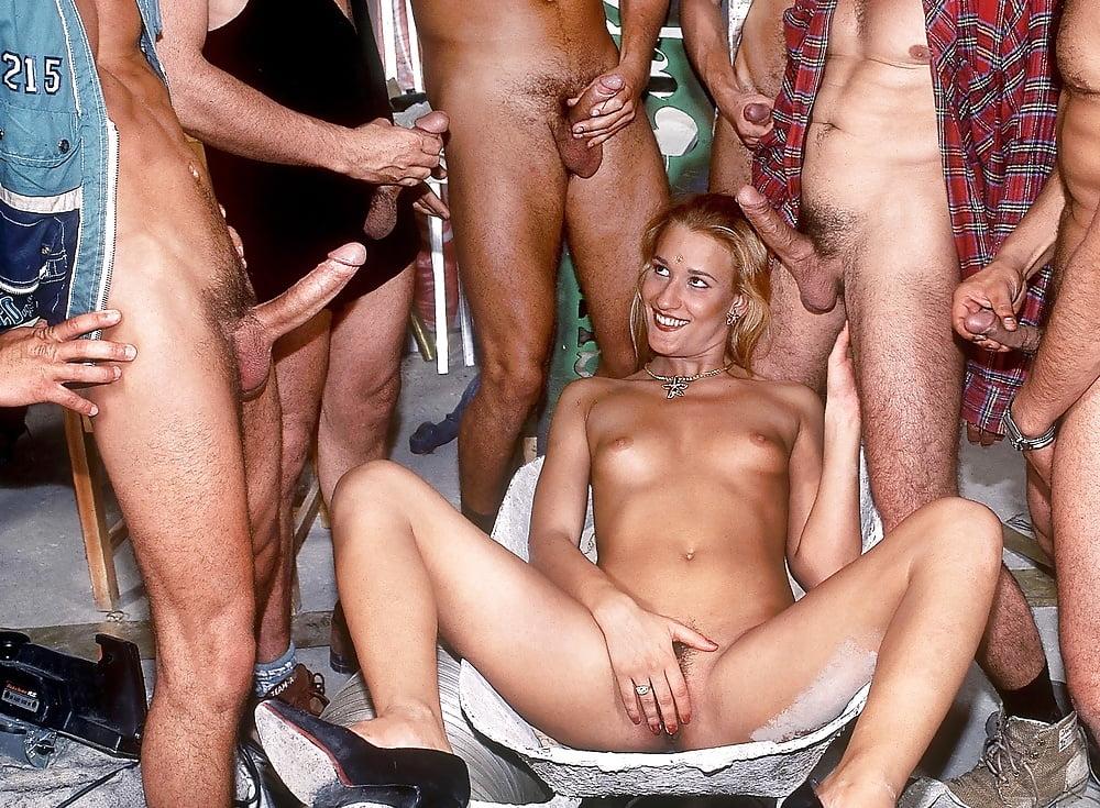 British Amateur Gangbang Party