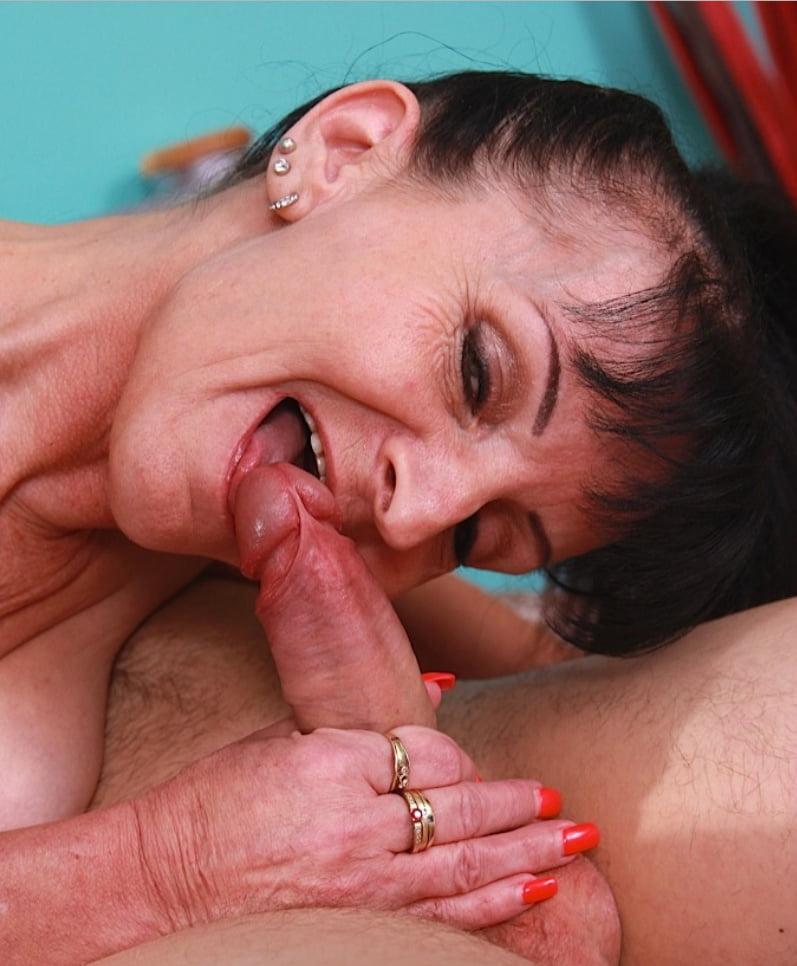 Naked older women deepthroat freckle girl beautiful