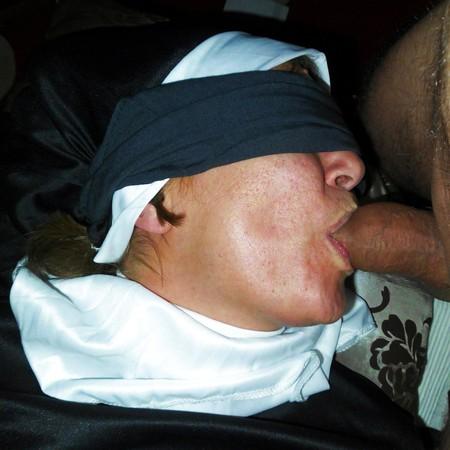 Rough anal gangbang