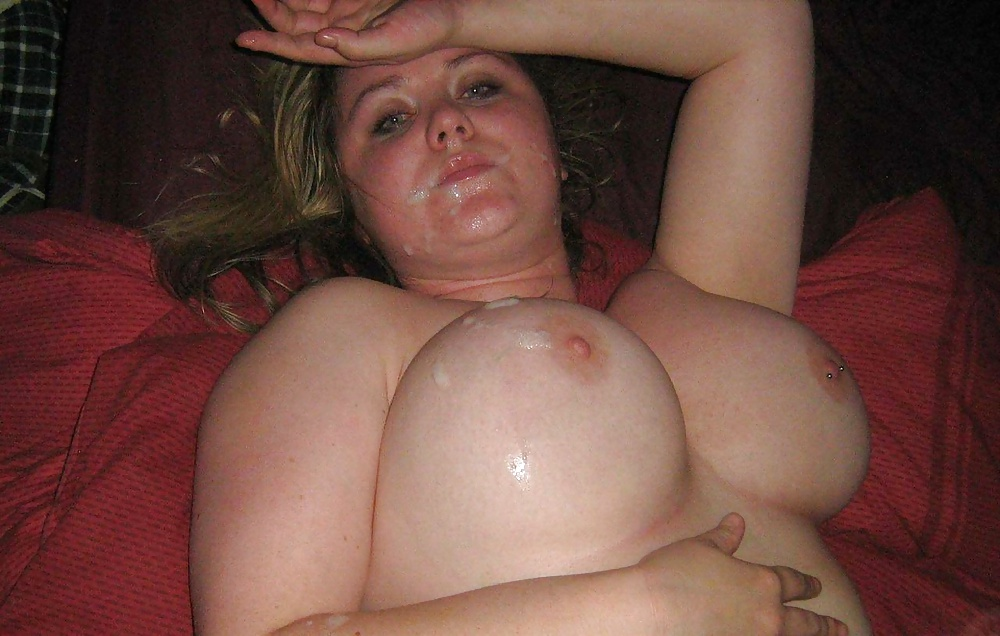 Chubby girlfriend big tits