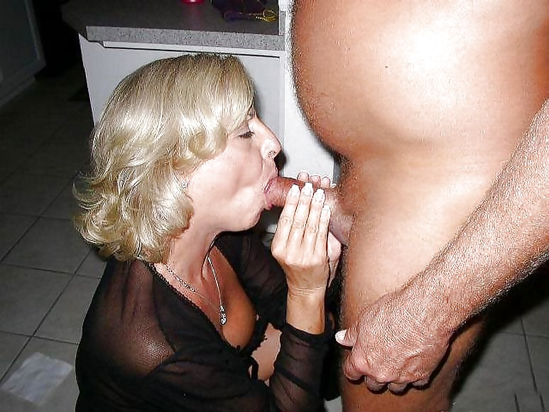Blowjob mature ex