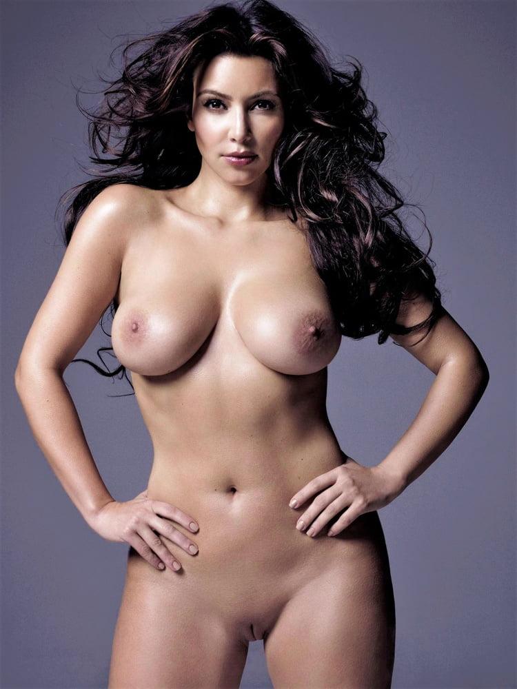 Naked kim kardishian