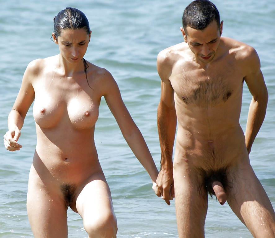 Nude couples with boners — photo 3