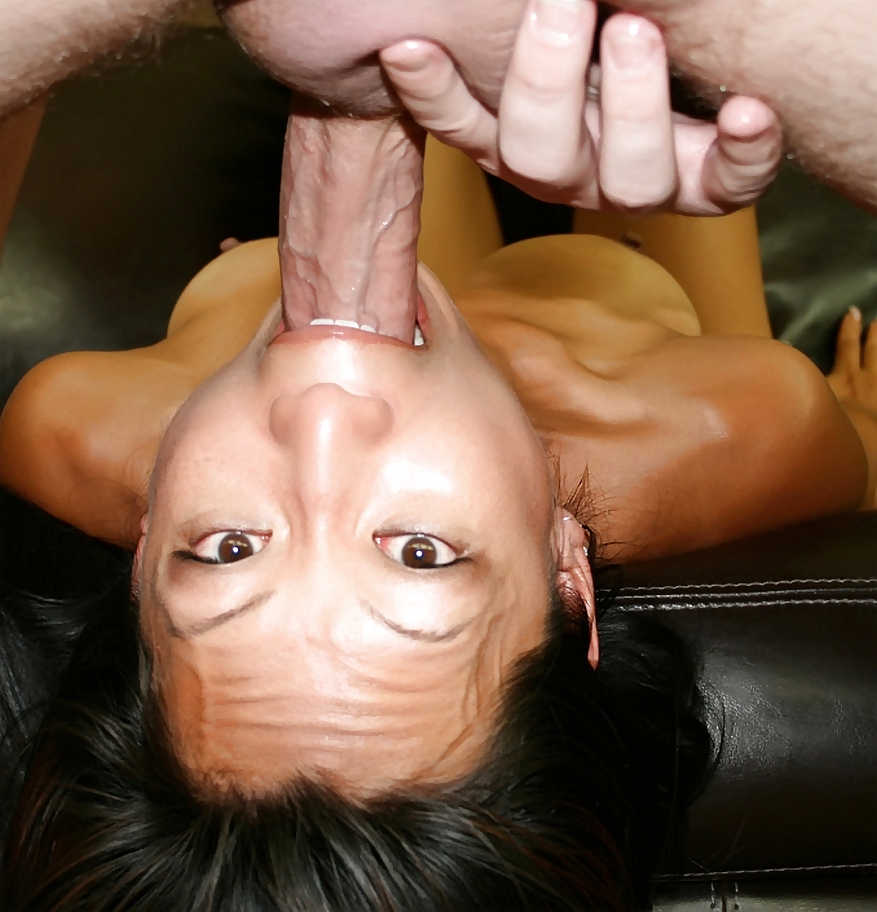 Fuck her asian throat mouth
