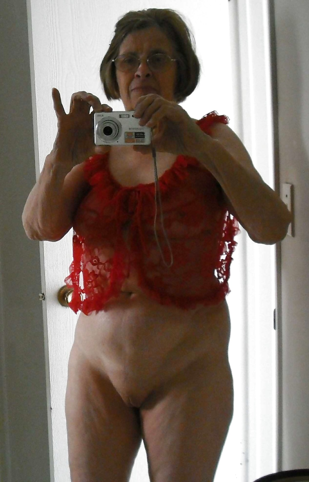 British milf nude self granny girl