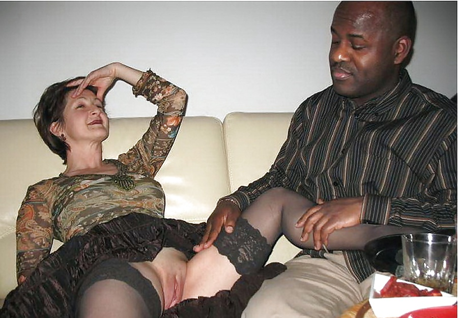 Says she loves black cock