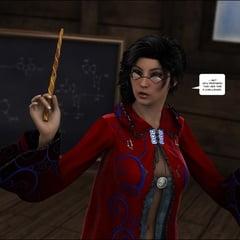 3D Comics Harriet Cooper And The Wizard's Sacrifice