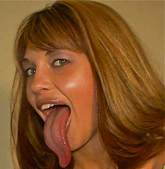 Babes With Long Tongue On Tiktok