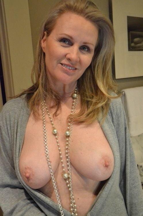 Milf boobs unzipped — 1