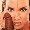 Halle Berry cocked and cummed tribute cum pic