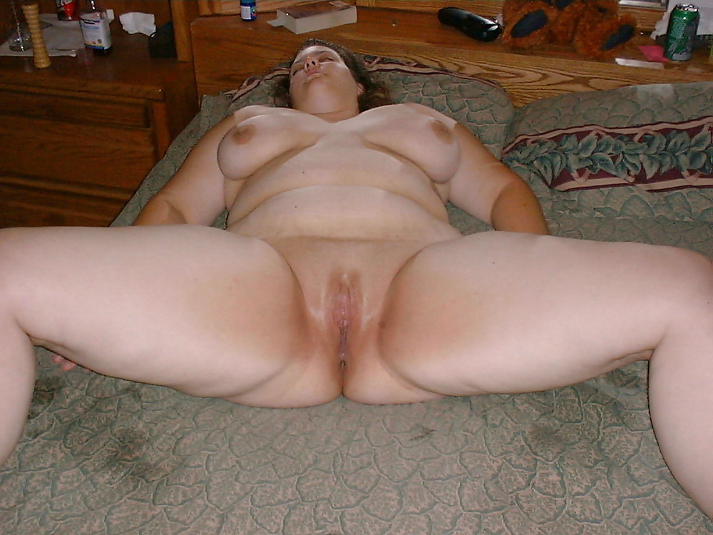 Bbw spread eagle — pic 4