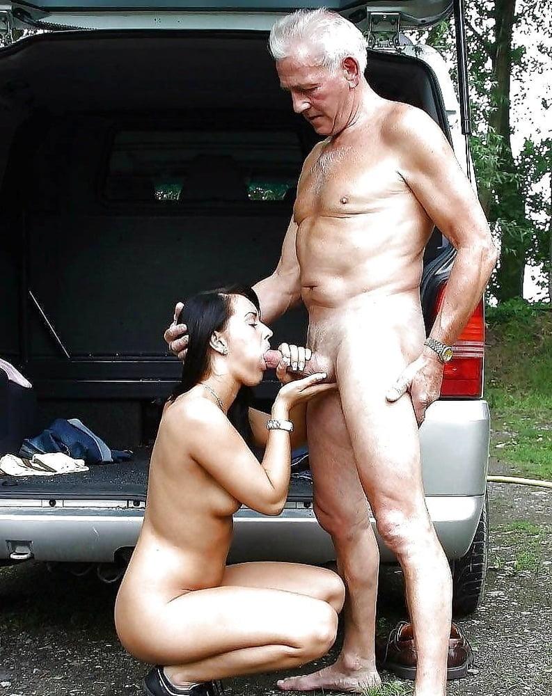 Naked older man young girl 1