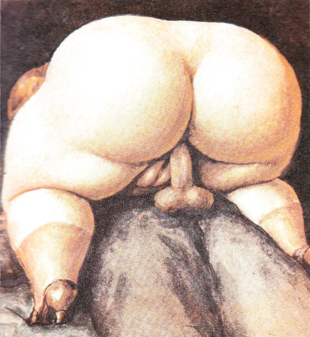 Порно толстушки рисованные, читать как я лизал жене