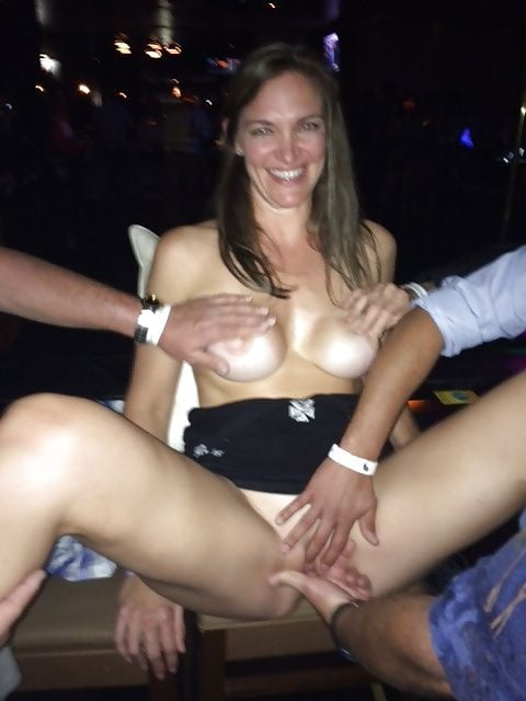 Amateur Crazy Partybitch Yvonne Flashing And Groped In Publi Adultism 1