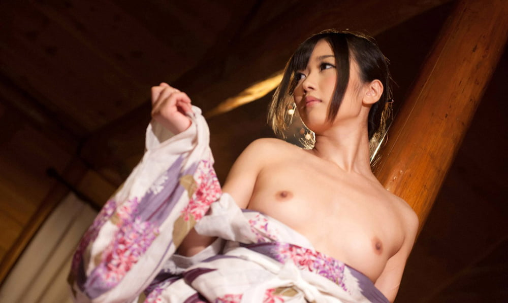 Getting Naked In Kimono And Japanese Ai Haneda Is Filled Perfect Girls 1