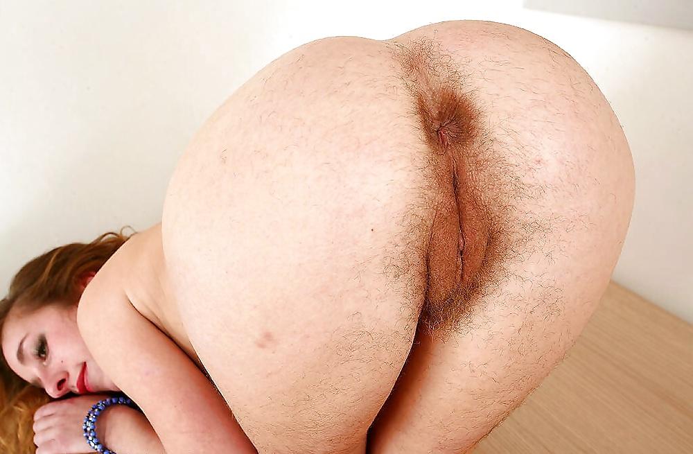 Morey hairy ass