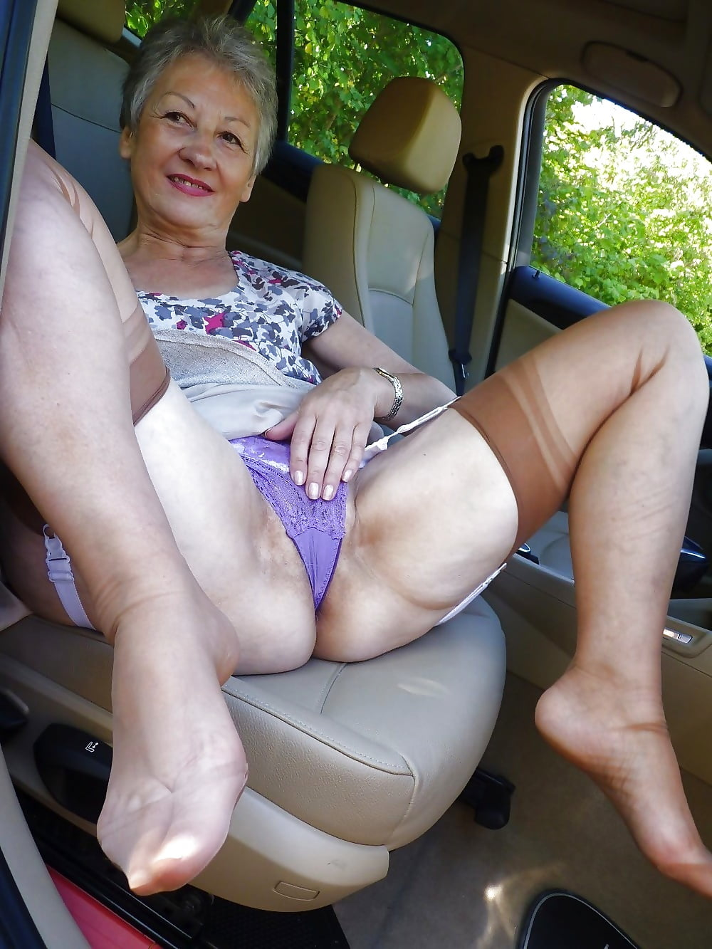 Granny upskirt panties, young wet clean pussy