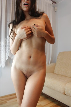 very hot girl showing her pussy