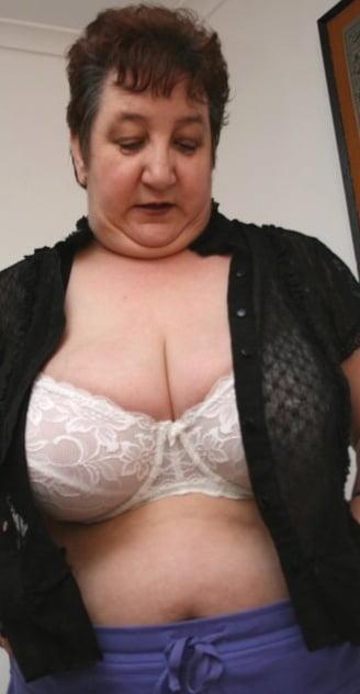 British mature women in stockings-4496