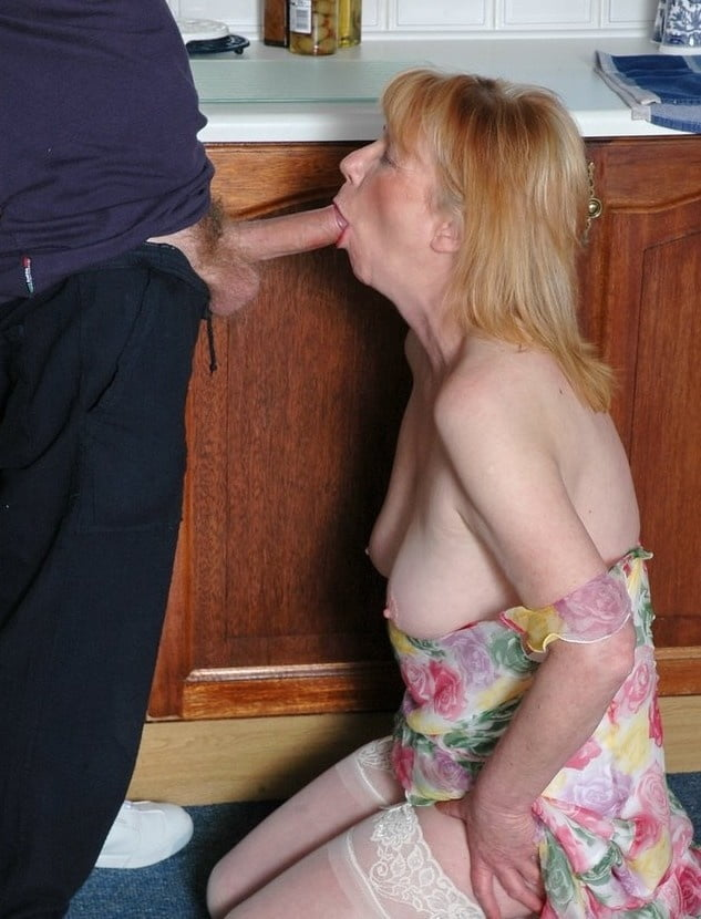 Busty Mother In Law Riding Cock After Blowjob