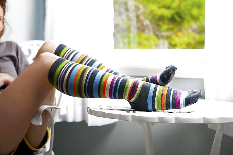 Sexy girls socks — pic 10