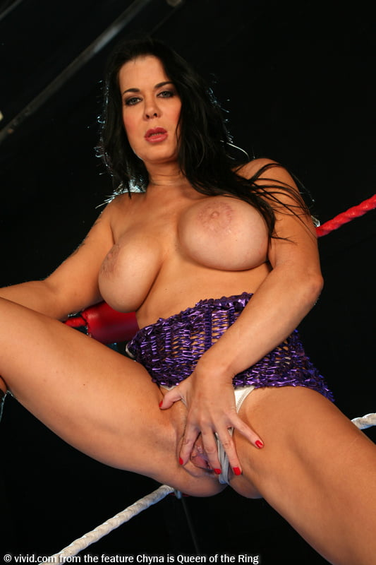 Raunchy big tits joanie laurer sex in backdoor to chyna, barrydogbarry