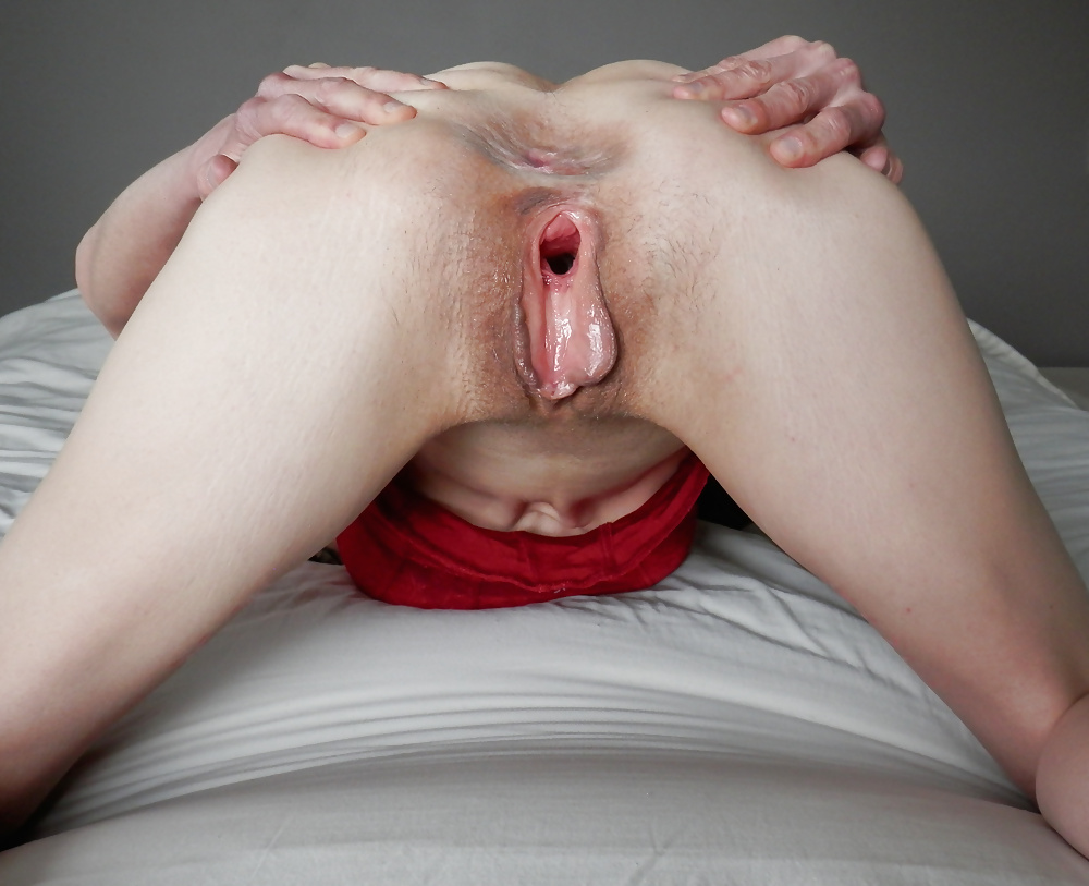 Really Giant Fat Cock Is Fucking This Babe's Tight Pussy Hole
