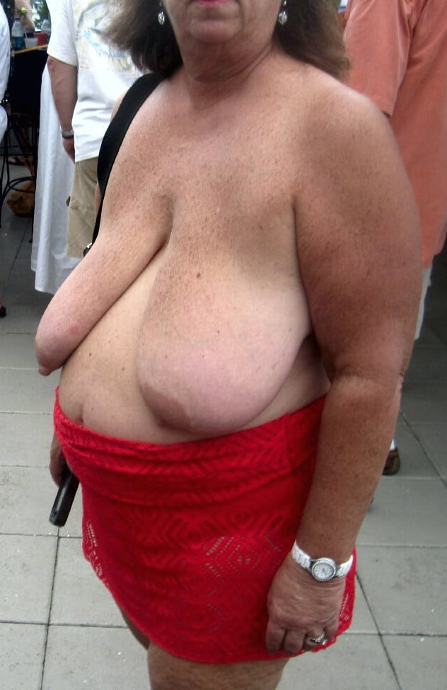 Naked boob hanger old saggy sex fucking