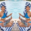Liberte Chan KTLA Weather Girl Works Bikini In Monoco
