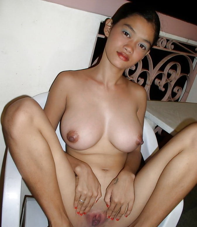 Young busty filipina girl