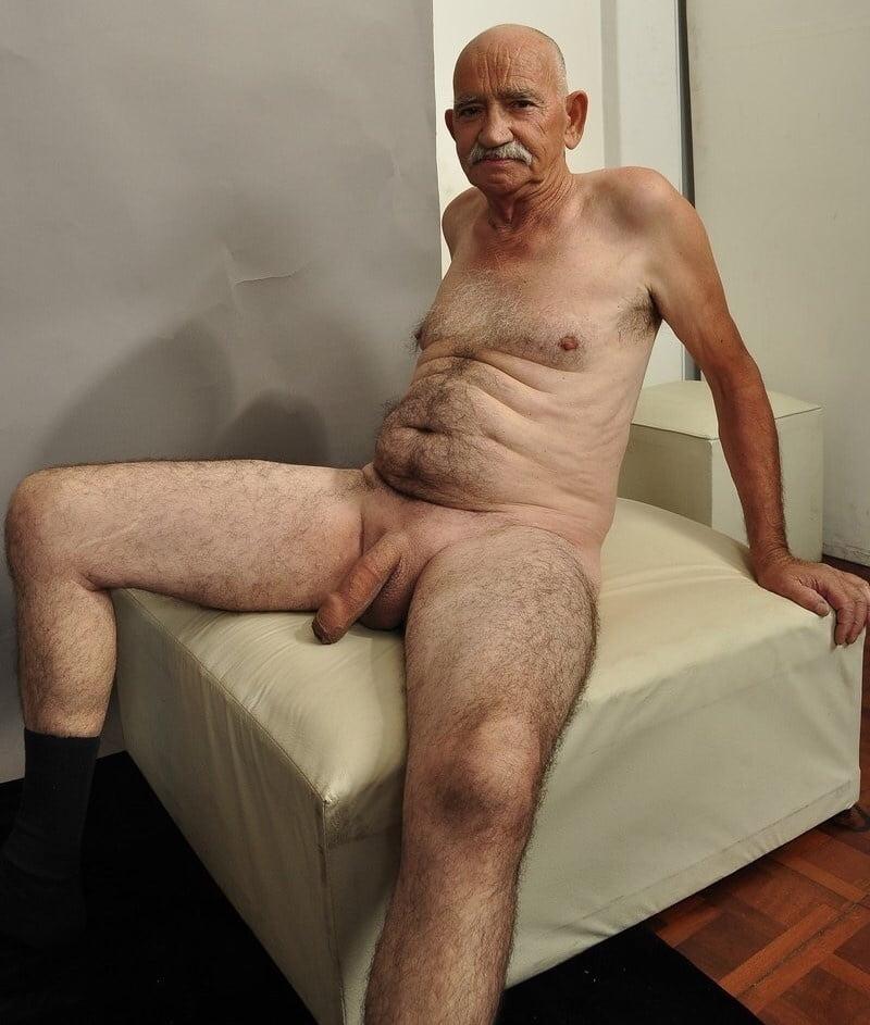 Old naked grandad