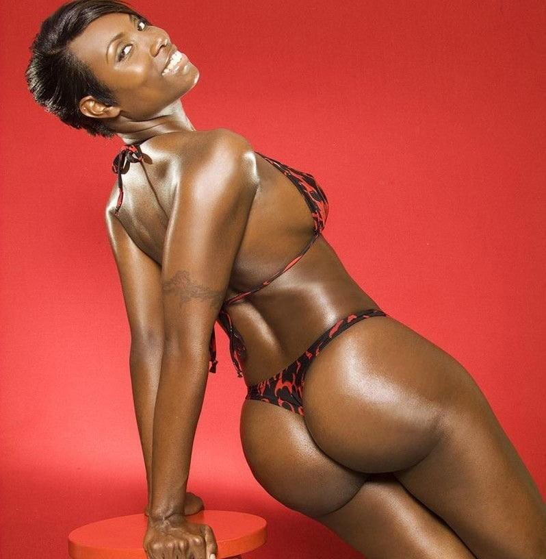 Naked hot black female models