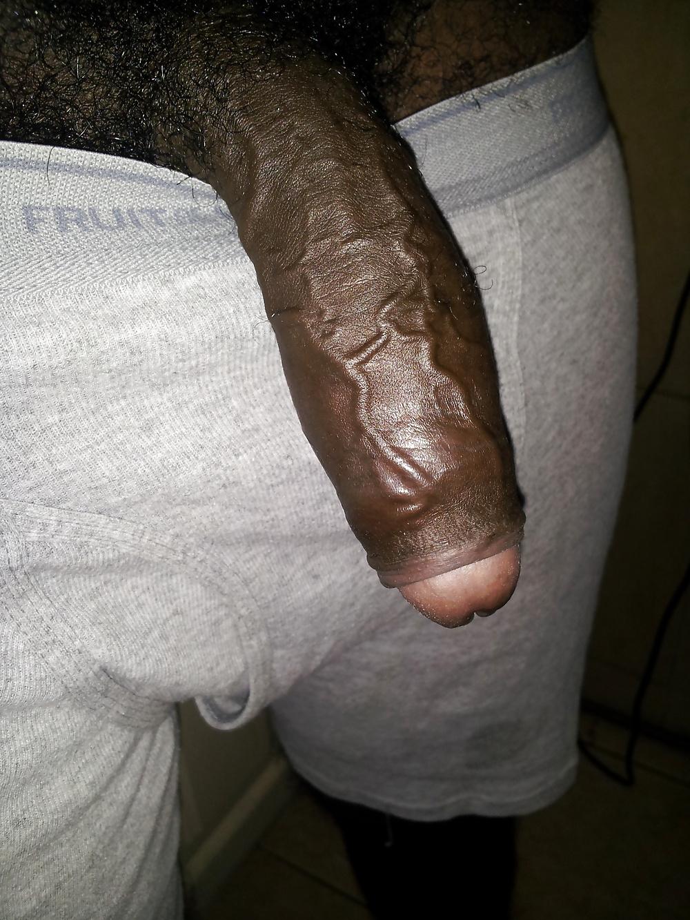 Big Black Uncut Penis