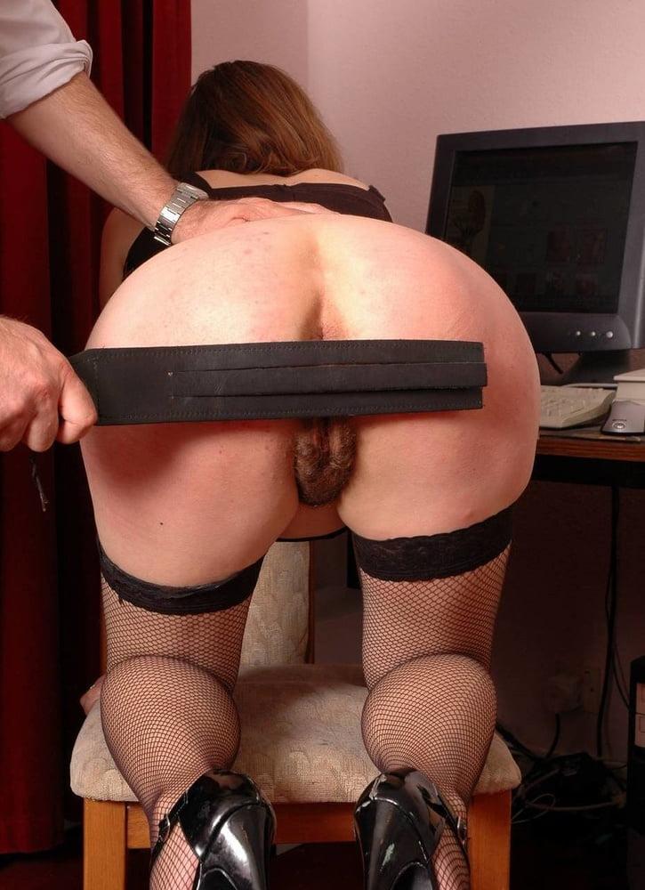 Femdom spanking porn