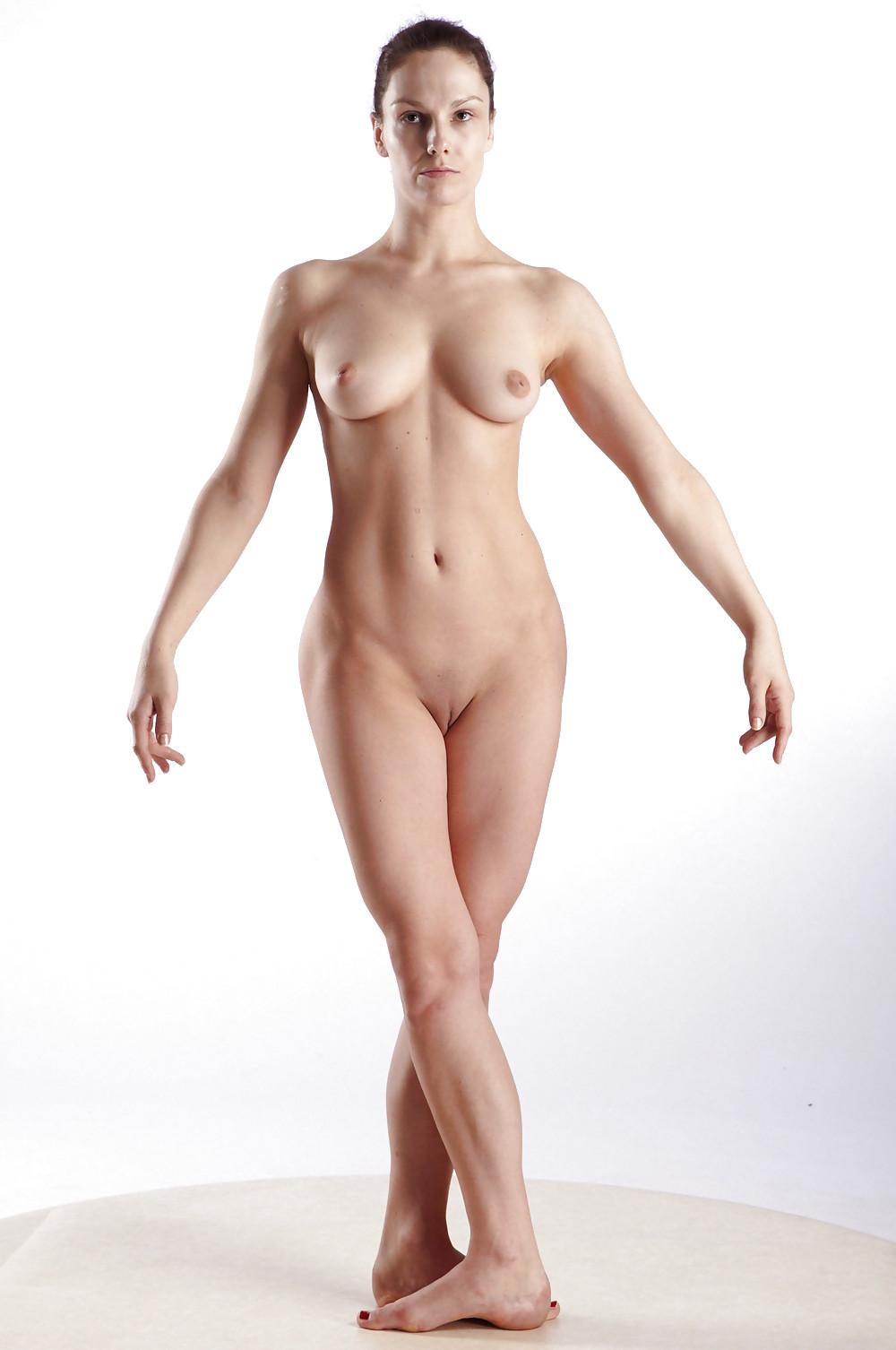 Naked girls posing nude gif