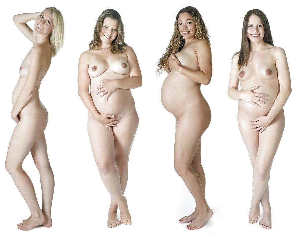Pregnant iii woman naked