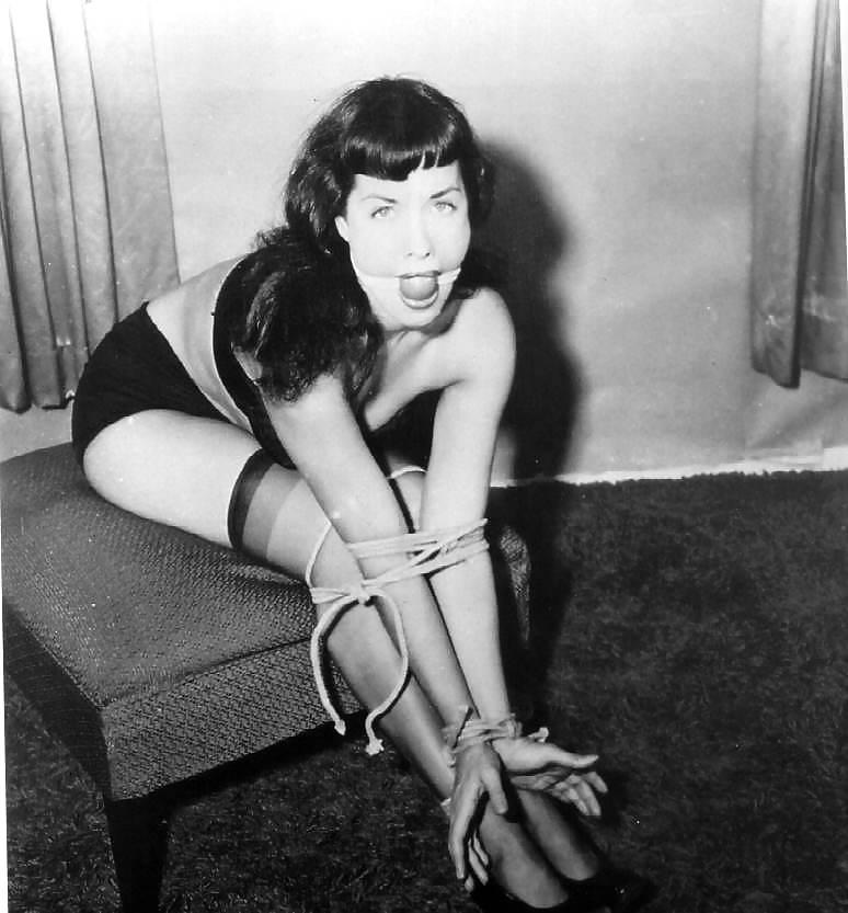 Betty paige bondage